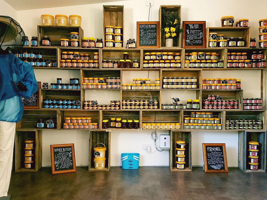 Honey Pot à Bruny Island
