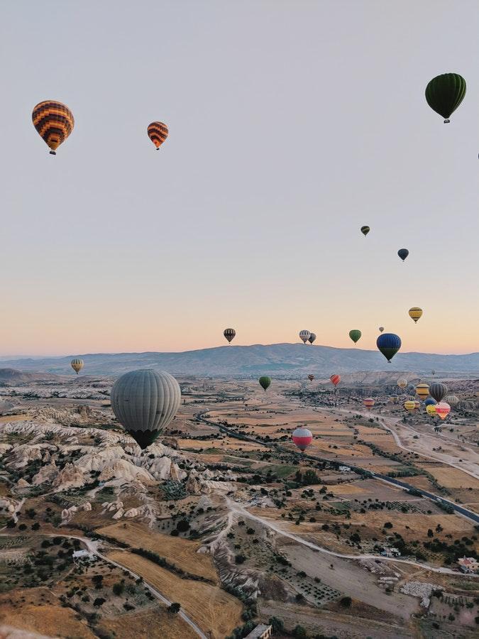 Montgolfière en Turquie