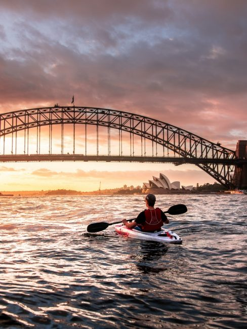 Kayak à Sydney