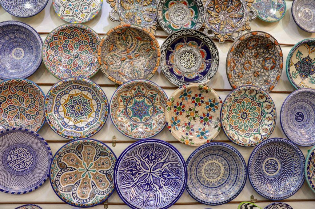 Poteries de potiers au Maroc