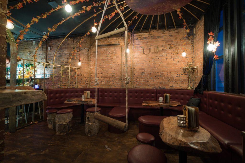 Le centre du bar Storyville de Melbourne