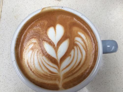 De l'art sur le café