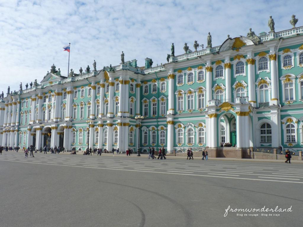 Le palais de Saint-Pétersbourg