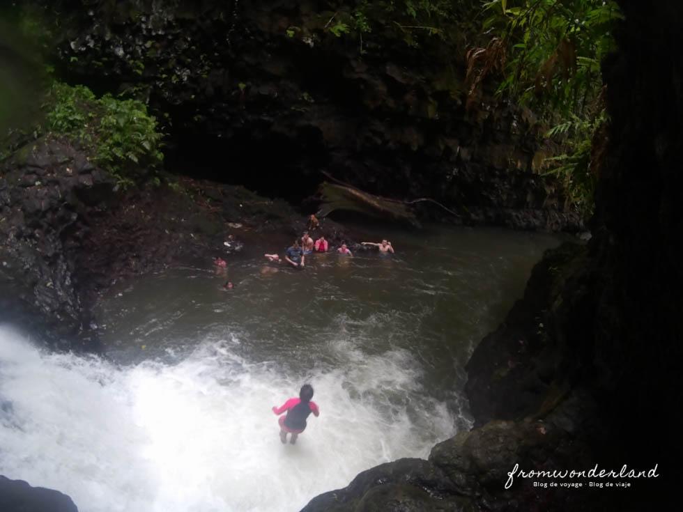 Canyoning aux Samoa