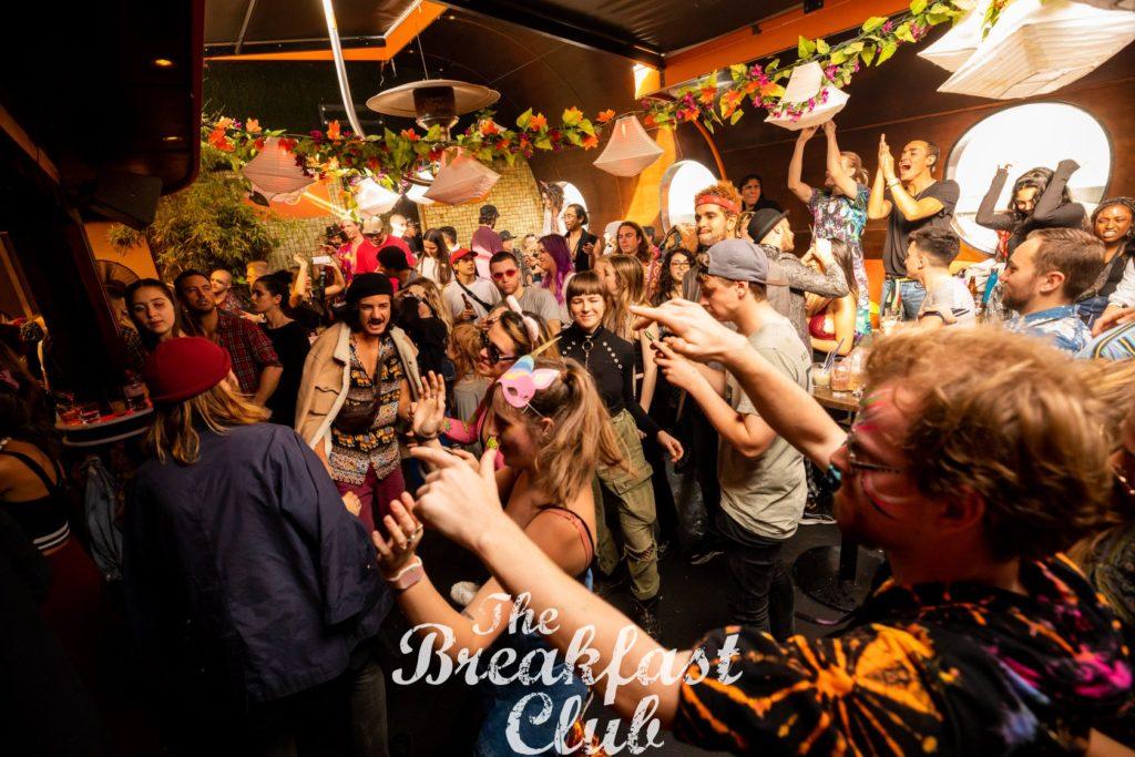 soirée dans un club de Melbourne