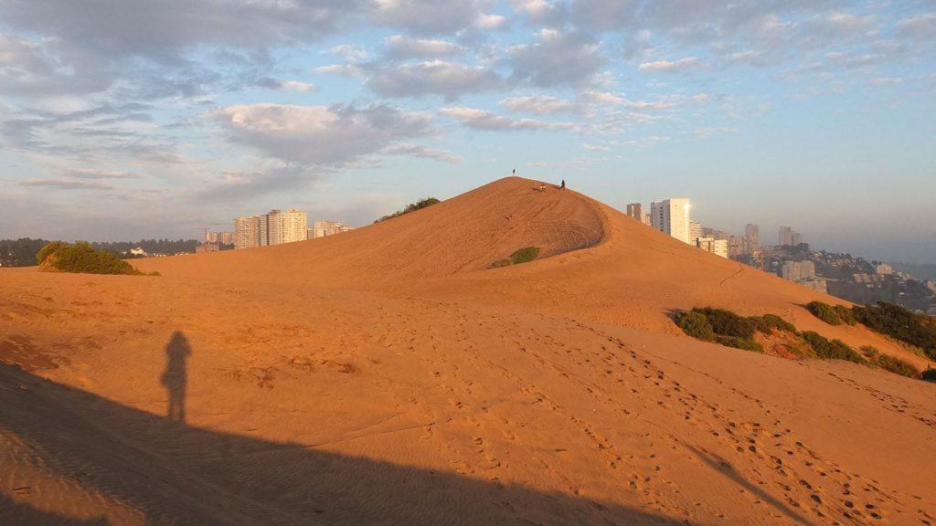 Dunes proches de Valparaiso