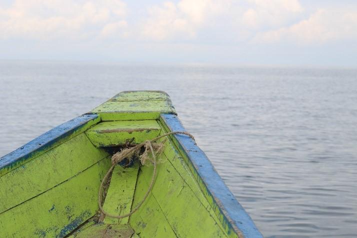 Barque au Rwanda