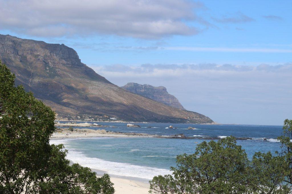 Plage près de Cape Town