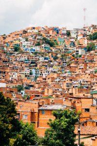 La ville de Medellín en Colombie