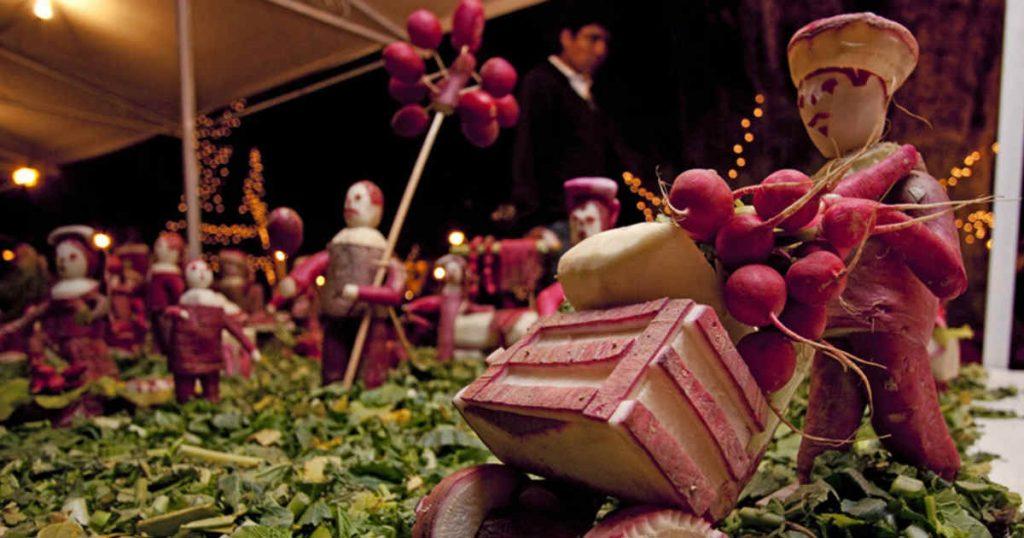 Fête des radis - Mexique