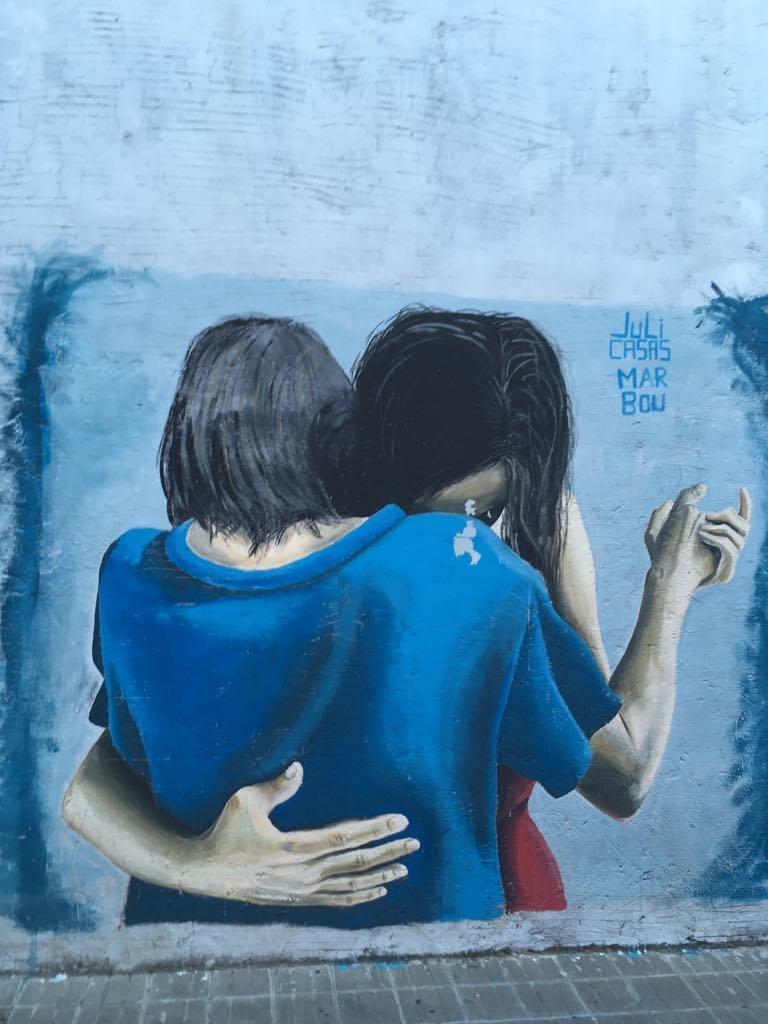 Street art en Argentine