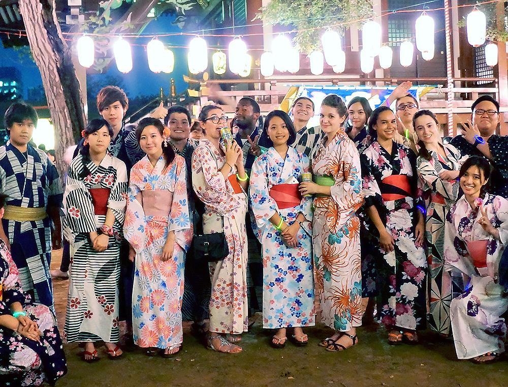 Tenues traditionnels japonnaises