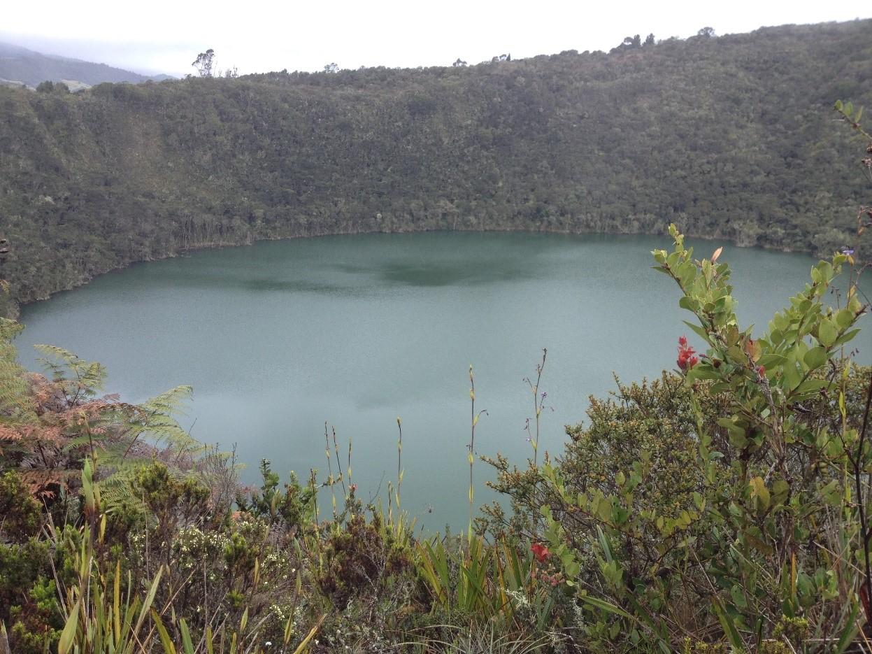 Vue sur la laguna jour de pluie