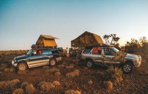 4X4 dans le bush australien