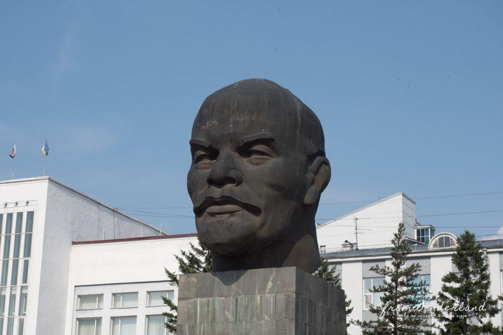 Statut tête de Lénine en Russie