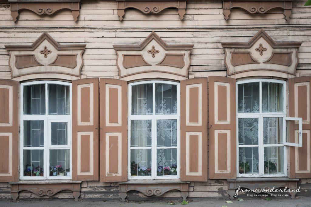 maison typique en Russie