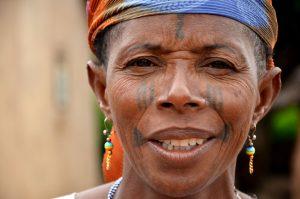 Femme au Bénin