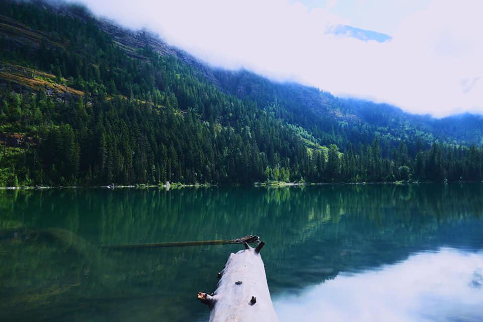 Lac Avalanche - Parc National des Glaciers