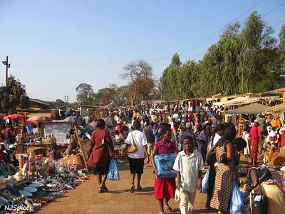 Marché au Malawi