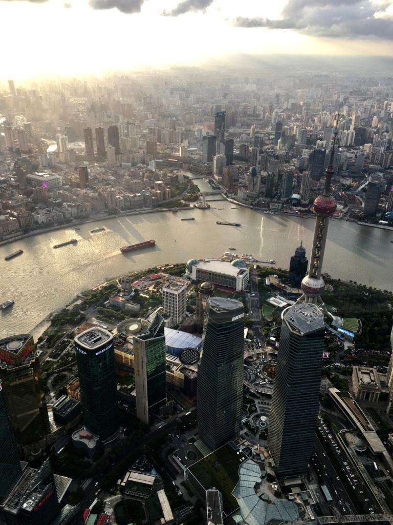 Vue depuis la tour Shanghai