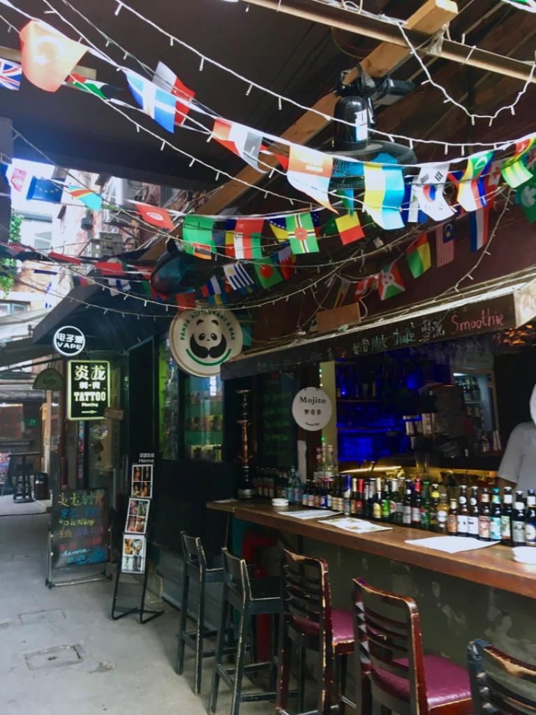 les bars de Shanghai