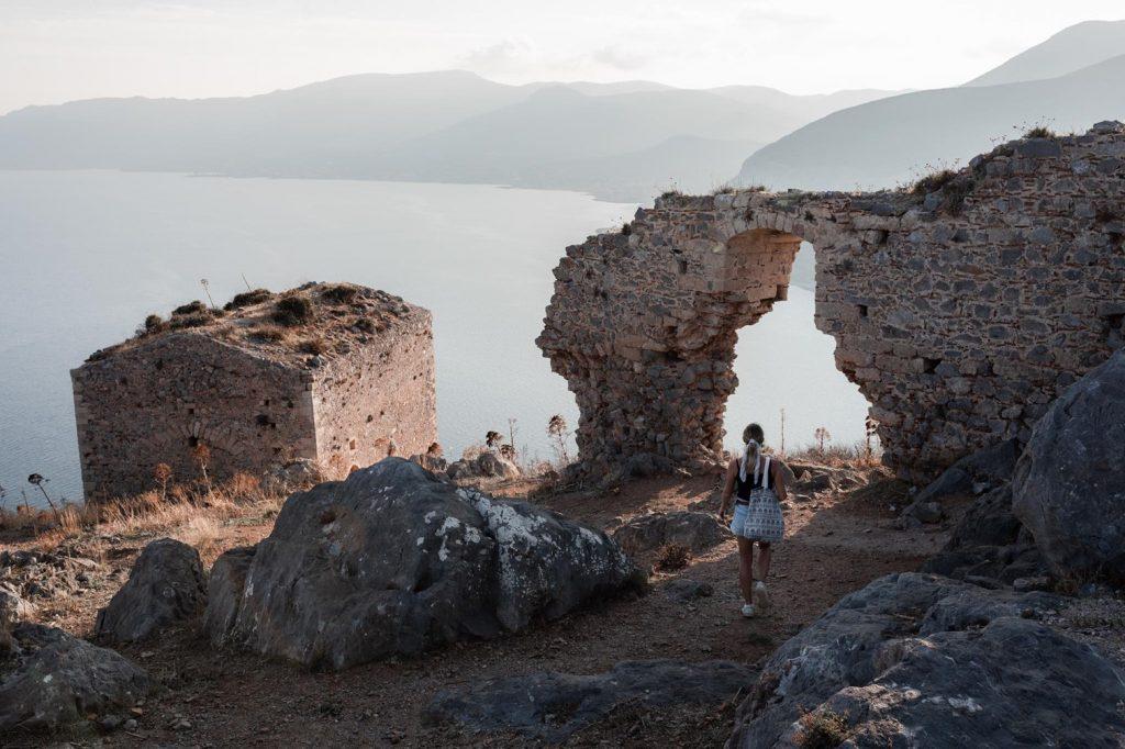 La Grèce en van