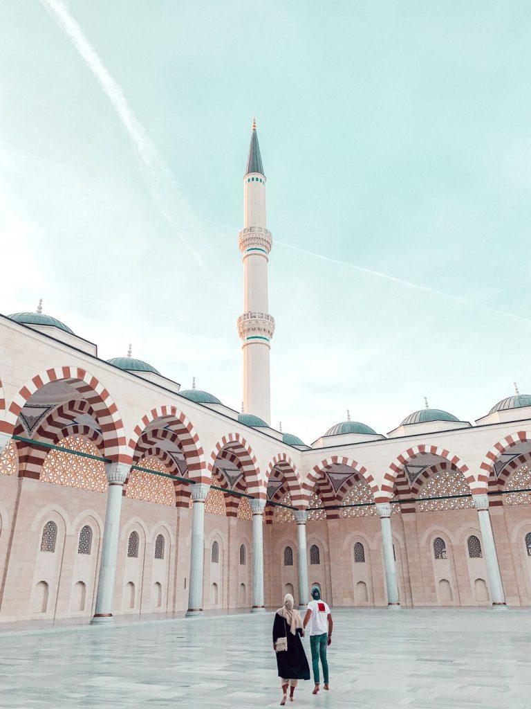 mosquée de Çamlıca Camii à Istanbul