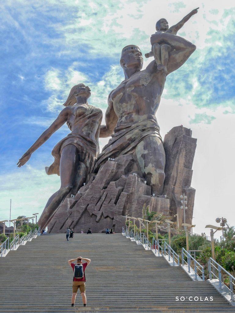 Statue renaissance afircaine - Dakar