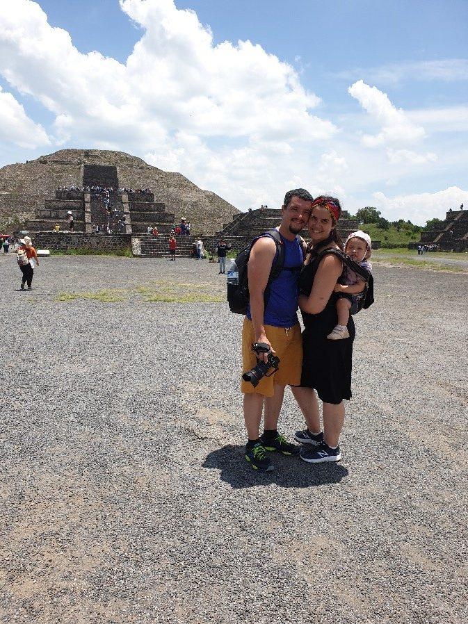 La famille Borel au Mexique