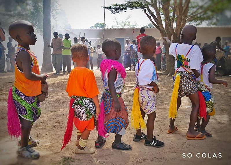 Enfants fête Sénégal