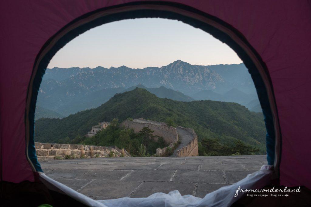 Reveil sur la Grande Muraille