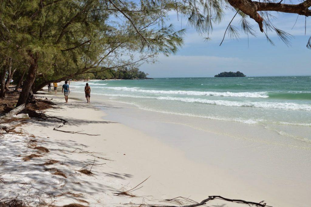 Les plages du Cambodge