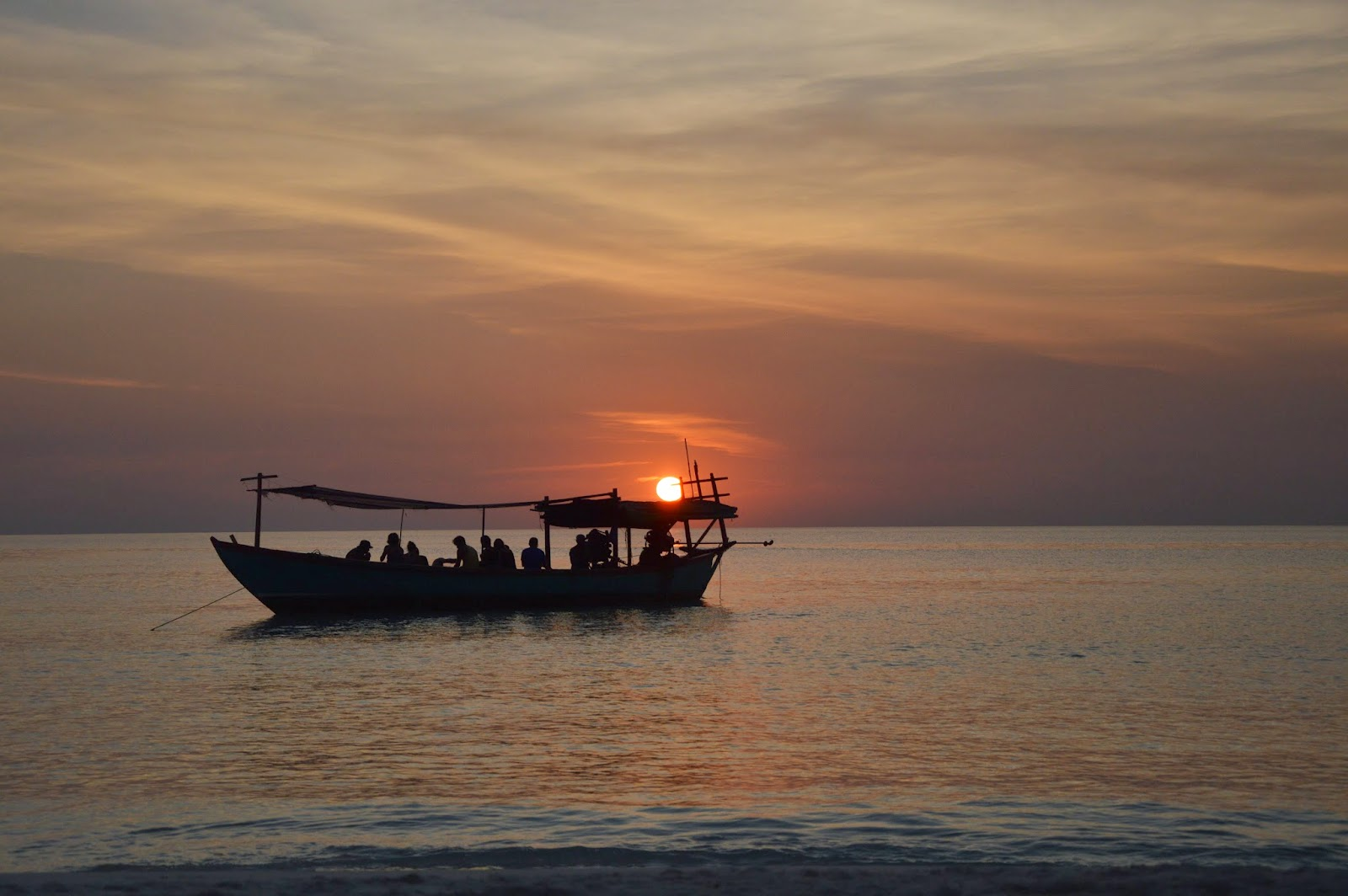 Coucher de soleil Koh Rong