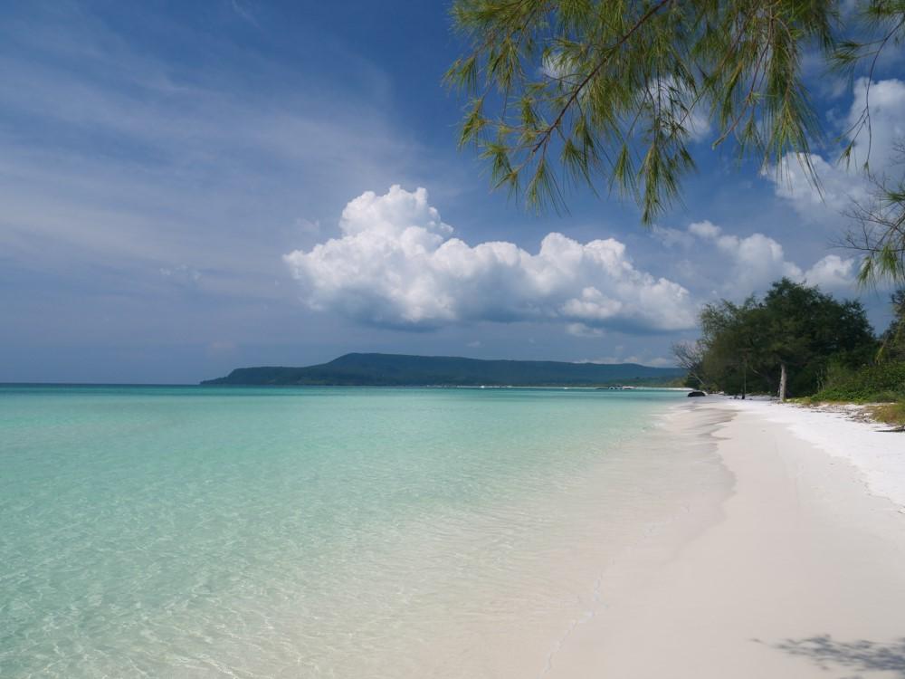 la plage de Long beach sur Koh Rong