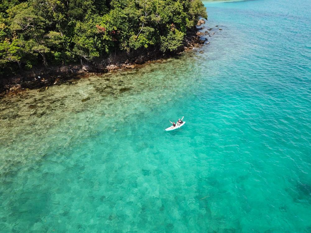 Sortie Kayak sur Koh Rong Sanloem