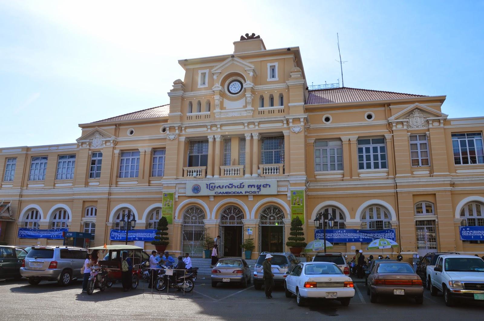 Quartier français de Phnom Penh