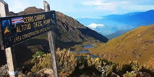 Vue du sommet de Chirripo