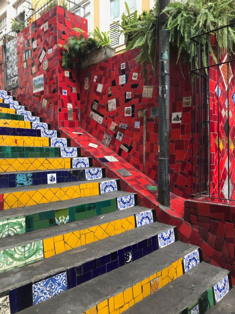 Les escaliers Selaron