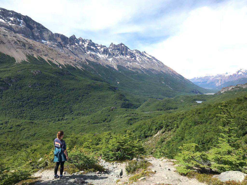 Un chemin de randonnée El Chalten
