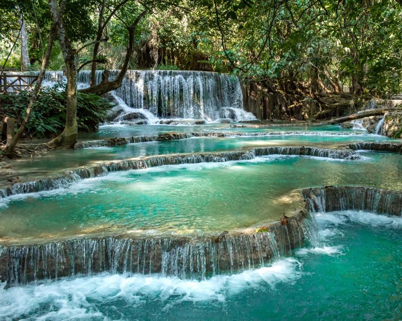 Les Kuang Si Falls