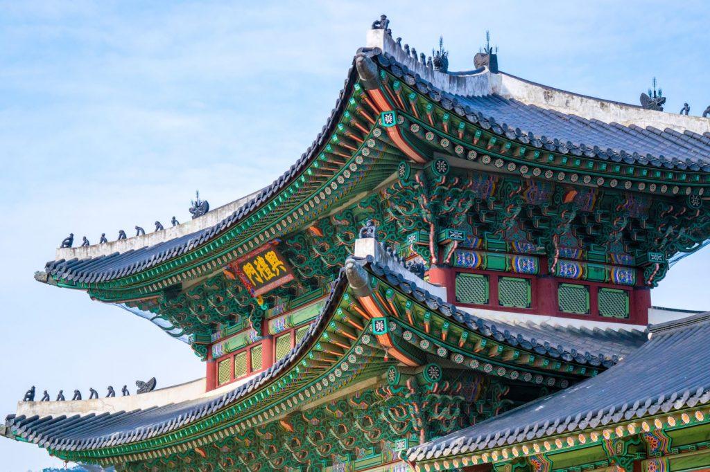 Temple Séoul