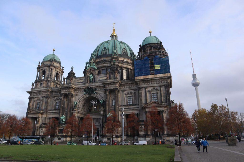 La Cathédrale de Berlin, visite lors d'un weekend