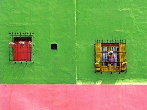 Rue colorée à Buenos Aires