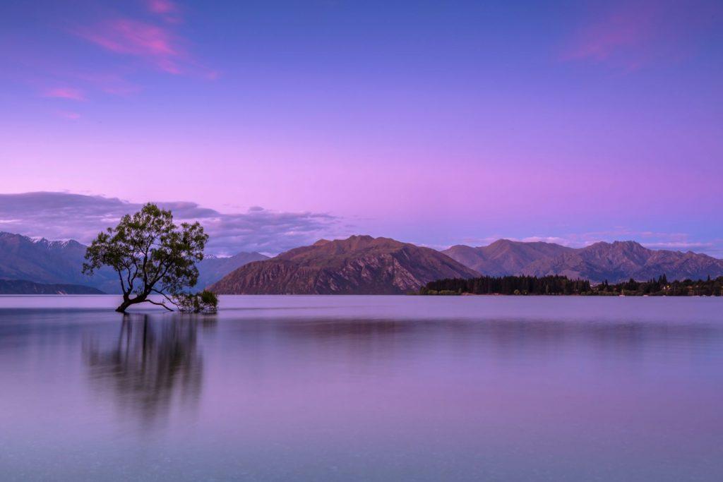 Lac Wanaka en Nouvelle Zélande