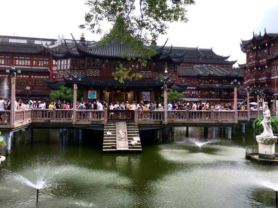 La tea House la plus vieille de Shanghai