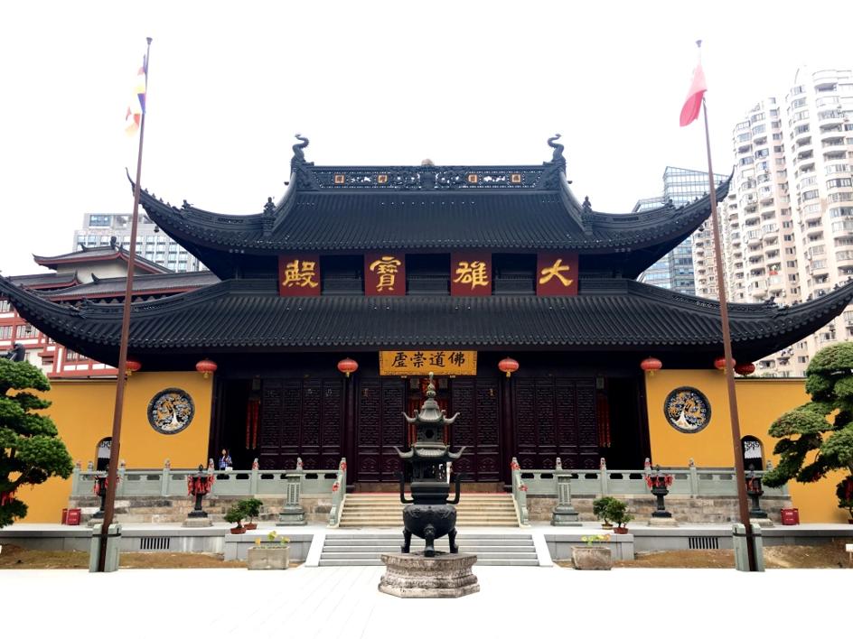 Un temple de Shanghai