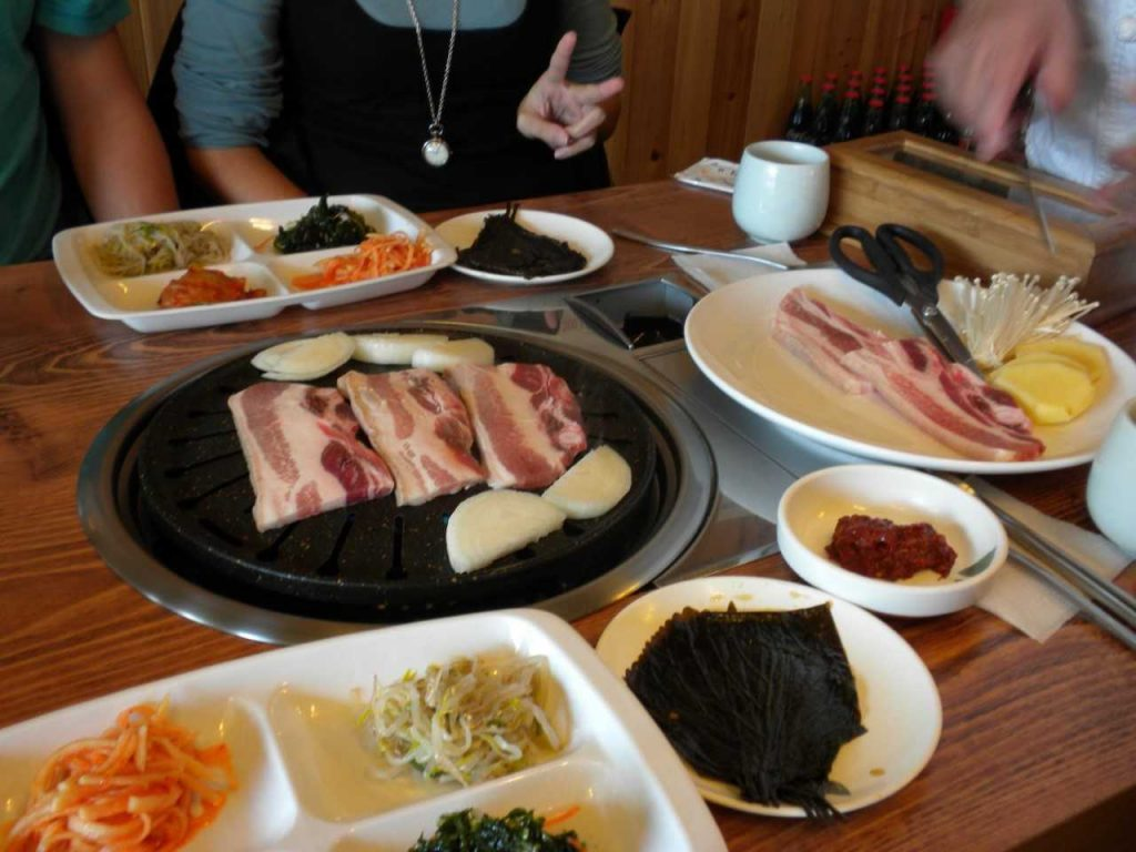 le fameux Korean barbecue