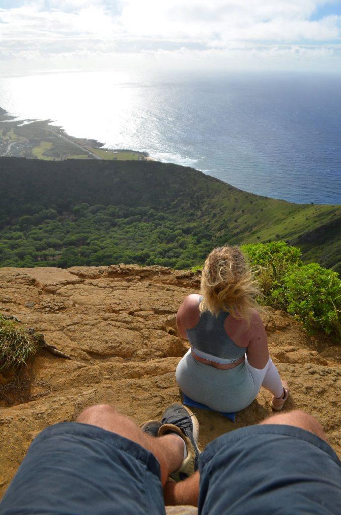 Vue sur l'horizon d'Hawaï