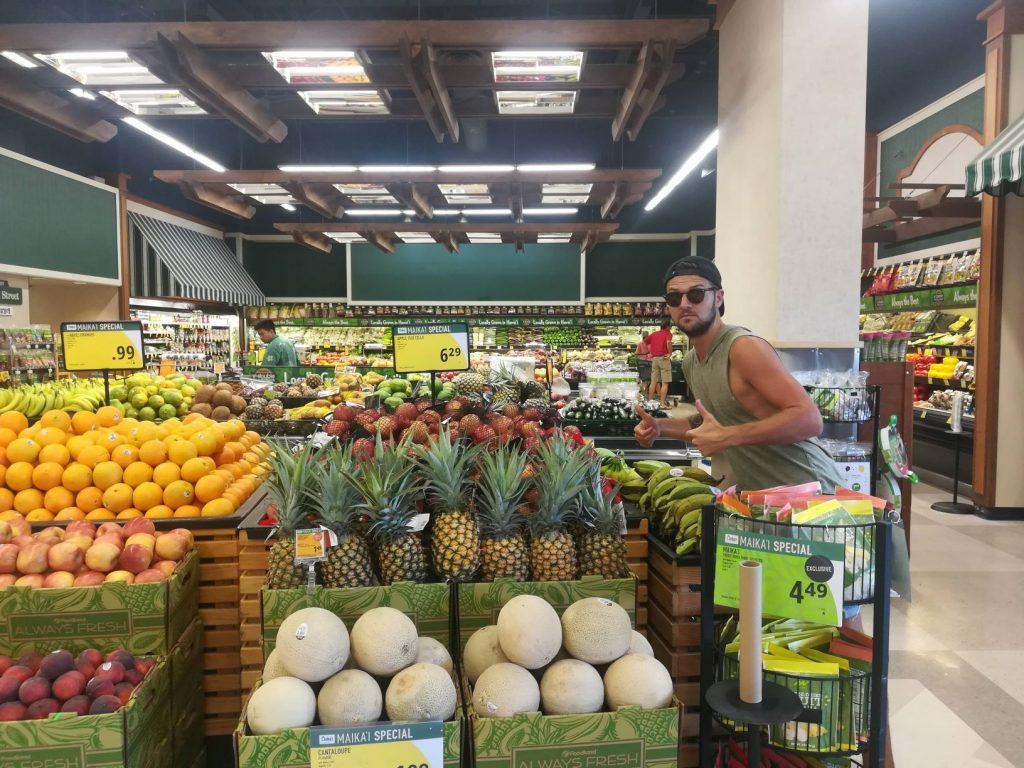 Épicerie de fruits et légumes
