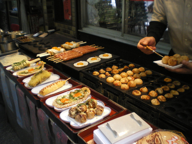 La gastronomie japonaise : les takoyaki